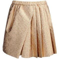 N 21 Diamond Jacquard Skirt ($480) ❤ liked on Polyvore