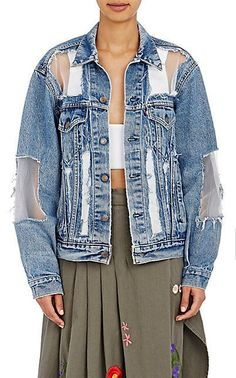 Да джинсовка ли это? (подборка) / Курточные переделки / ВТОРАЯ УЛИЦА