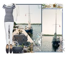 """""""Nautical Theme"""" by asia-12 ❤ liked on Polyvore featuring Burberry, River Island, Dolce&Gabbana, Warehouse and Sperry"""