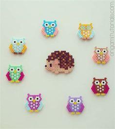 perler bead ideas – Yahoo Image Search Results – Bügelperlen – Hama Beads Perler Bead Designs, Hama Beads Design, Diy Perler Beads, Perler Bead Art, Pearler Beads, Fuse Beads, Owl Perler, Hama Beads Kawaii, Melty Bead Designs