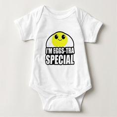 Special Egg Baby Bodysuit