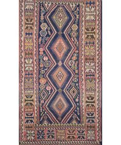 PERSIAN OLD KILIM RUG - Antique Rugs - $3,500.00 - Carpet Culture | Rug Store in Manhattan | Carpet Cleaners - ON SALE!