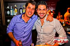Con mi jefe-amigo Nando Reig