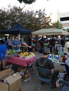 Tuesday is market day at Rose City Farmers Market in Tyler, Texas 7am - 1pm http://www.farmersmarketonline.com/fm/TheFairMarket.html