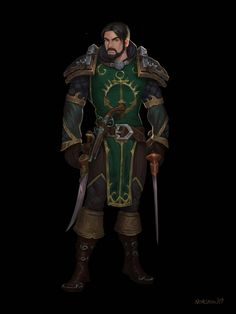 Carington by Noir-snow on DeviantArt World Of Warcraft Characters, Dnd Characters, Fantasy Characters, Fantasy Male, Fantasy Rpg, Medieval Fantasy, Character Concept, Character Art, Character Design