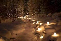 Candles in the snow photography outdoors nature candles winter Snow Pictures, Nature Pictures, Winter Proposal, Lights Fantastic, Snow Photography, Outdoor Pictures, Winter Festival, Winter Wonder, For Facebook