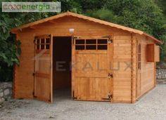 Garage autobox cm 418x600(40 mm) con porta e finestra - DEKALUX