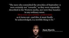 Sam Harris on the problem with Perfect Faith