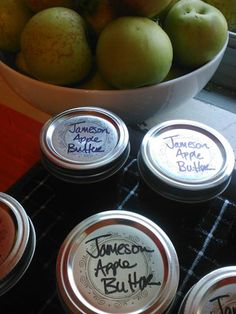 Slow Cooker Apple Butter with Jameson