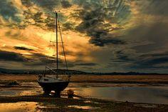 Sunset - Exmouth, Devon (DSC08569a) by nick_scotcher on Flickr.