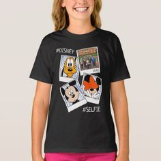 Disney Family Vacation Selfie | Mickey & Friends T-Shirt - family gifts love personalize gift ideas diy