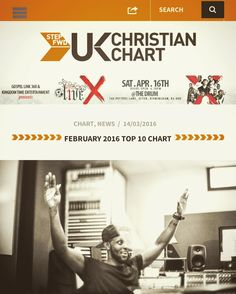 @astepfwd Feb charts are interesting it looks like singers are making a comeback after almost a decade of rappers dominating the #UKgospelmusic if you are a Christian Music artist submit now your latest track