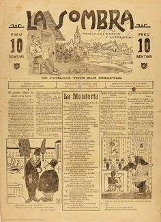 La Sombra : semanari festiu y lliterari se publica tots els disaptes: Año I Número 6 - 23 agosto 1924