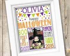 Happy Halloween Printable Sign ~ Printable Halloween Poster ~ Halloween Photo Art ~ Printable Halloween Decoration Sign ~ Digital JPEG File by SubwayStyle on Etsy