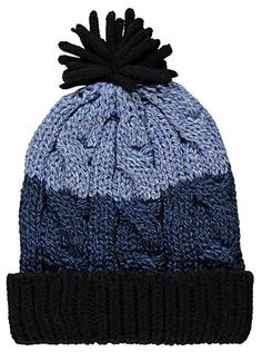 Knit Beanie Hat, read reviews and buy online at George. Shop from our latest range in Kids. Trendy and cosy, this fantastic blue knit beanie will be a hit. C...