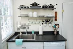 10 Space-Making Hacks for Small Kitchens: How to Make a Small Kitchen Work Better