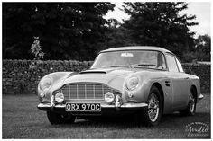 Aston Martin DB5 - the Bond car! | Yorkshire wedding photography by www.colinmurdochstudio.com