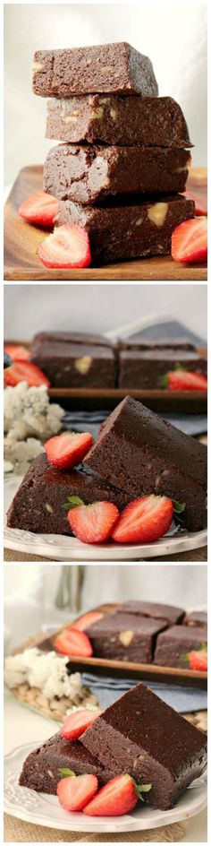 Delicious Raw Brownies are full of flavor and easy to prepare! Make these for a healthy, guilt free dessert or snack!