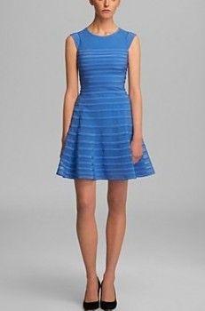 Halston Heritage Cap Sleeve Flare Skirt Dress worn by Hazel Grace Lancaster in The Fault In Our Stars. Shop it: http://www.pradux.com/halston-heritage-cap-sleeve-flare-skirt-dress-34166?q=m4