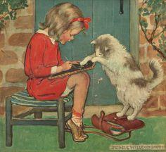 Jessie Willcox Smith, illustrator.