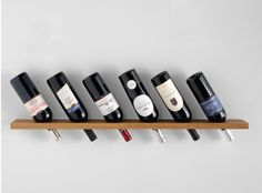 simple wine rack