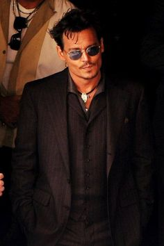 You can dress him up and take him anywhere! Johnny Depp