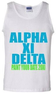 A paint your date party with Alpha Xi Delta!