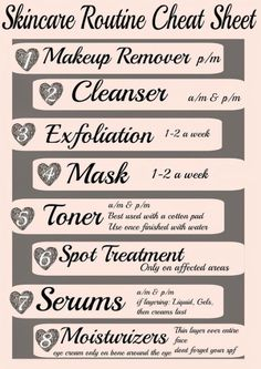 skincare routine guide steo by step