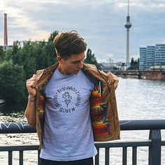 Spotted in Berlin, Germany  Tees will be available at the Stay Wild Expo…