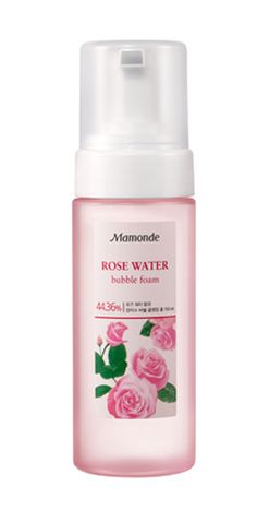 Amore Pacific MAMONDE Rose Water Bubble Cleansing Foam 150ml, Real Rose Water #MAMONDE