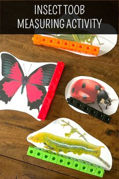 This is a Montessori-inspired learning activity designed to go along with the Safari Toob Insect educational toob toy. This is designed for preschoolers, prek, kindergarten and first grade students and perfect for Montessori environment. Educational Activities For Preschoolers, Insect Activities, Montessori Activities, Spring Activities, Kindergarten Activities, Montessori Elementary, Elementary Schools, Science Center Preschool, Preschool Math