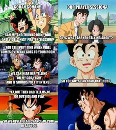 Dbz this made me laugh so much! lol