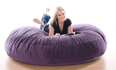 This looks so comfy - perfect for the Teen hangout area (the basement).