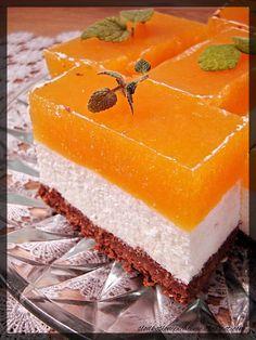 Słodko-słone pichcenie: Sernik z musem brzoskwiniowym na czekoladowo-sucharkowym spodzie (bez pieczenia) Food Cakes, Vanilla Cake, Cake Recipes, Cakes, Recipes For Cakes, Baking Recipes, Pie Recipes
