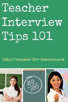 Teacher Interview Tips 101. Find many interview tips including teacher interview questions and answers, confidence building techniques, job search etiquette, and effective follow up. #interview #tips #teacher