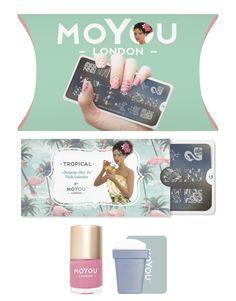 MoYou-London - Tropical Stamping Kit