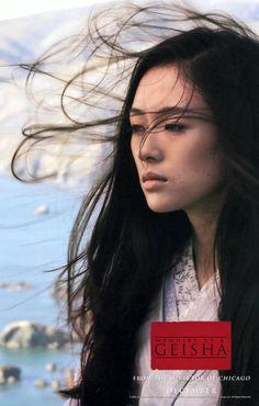 CAST: Ziyi Zhang, Ken Watanabe, Kôji Yakusho, Michelle Yeoh, Kaori Momoi, Youki…