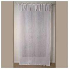 rideau blanc d coration au charme d 39 autrefois largeur 45cm pinterest stores blancs rideaux. Black Bedroom Furniture Sets. Home Design Ideas