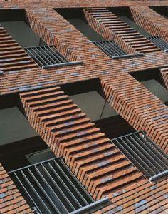 ribbed brickwork into windows - Google Search