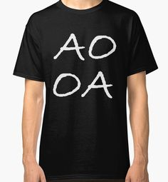 SayWord, AO OA White lettering   by TheVillage6