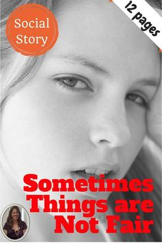 Social story helping students with autism and Asperger's understand why some things that happen do not seem fair. Strategies for relaxation and replacement behaviors are addressed. Power point format that can be edited, printed and cut apart for easy assembly into a 12 page booklet. Simple black and white pictures support text.