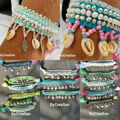 Handmade ankle bracelet.  ByCreaSan . Facebook pagina ByCreaSan  Instagram ByCreaSan