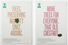 Trees. Preserving modesty since 4000BC.