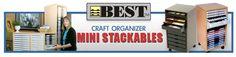 Best Craft Organizer - Scrapbook Storage for Scrapbooking Paper Storage