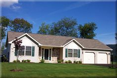 Ranch Home Plan: STOCKTON       1,689 Square Feet of Living Area     3 Bedroom     2 Bathrooms