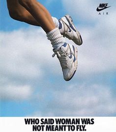 "Nike ""Air Force Women's Basketball Shoe Print Advertisement - The basketball and sportswear culture had a huge influence on footwear during the Branding was also a big trend. Bedroom Wall Collage, Photo Wall Collage, Picture Wall, Nike Poster, Poster Wall, Poster Prints, Aesthetic Collage, Aesthetic Vintage, Flugblatt Design"
