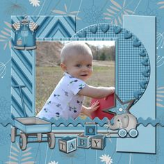 Sweet Baby Boy - Scrapbook.com