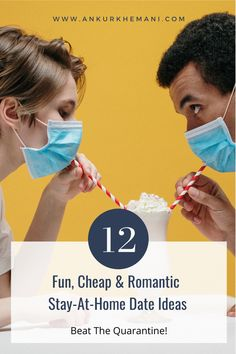 Whether you are staying at home due to Covid-19 pandemic or just, these 12 fun, cheap and romantic date ideas will definitely rekindle the romance in your relationship! Magical backyard, Glamping and Spa'o clock are our favorite! #dateideas #athomedatenight #stayathome #romantic #cheapdateideas Cheap Date Ideas, At Home Date Nights, At Home Dates, Romantic Dates, Happy Relationships, Stay At Home, Glamping, Infographic, Spa