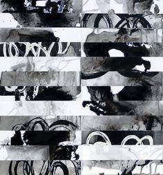 Désordre organisé - répertoire n° 1618 - by Philippe Chesneau - Dim. 63 x 59 cm - Encre de chine sur papier Brother BP71GA3