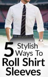 Stylish-Ways-To-Roll-Shirt-Sleeves-tall